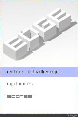 Edge iPhone Title Screen