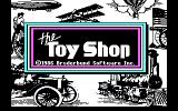 The Toy Shop DOS Title Screen