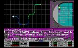 S.T.U.N. Runner DOS An overview of the track (VGA)