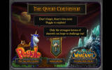 Peggle: World of Warcraft Edition Windows Promotional screen for both titles