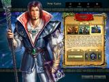 King's Bounty: The Legend Windows Character creation - The mage focuses on magical prowess to overcome enemies, with more powerful and effective spells.