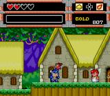 Wonder Boy in Monster World TurboGrafx CD The Village of Fairies