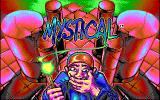 Mystical DOS Title screen (EGA)