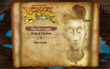 The Secret of Monkey Island: Special Edition Windows Main Menu