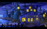 The Secret of Monkey Island: Special Edition Windows The revamped SCUMM bar is gorgeous.