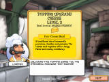 Pizza Frenzy Windows The cheese topping has been upgraded. You can now carry two cheese orders at once.