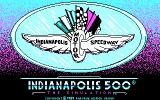 Indianapolis 500: The Simulation DOS Title screen (CGA)