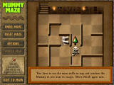 Mummy Maze Deluxe Windows The tutorial explains the game in a few easy steps.