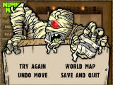 Mummy Maze Deluxe Windows Game Over