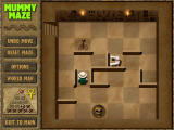 Mummy Maze Deluxe Windows This level has a mummy, a scorpion and a deadly trap.
