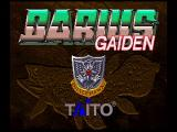Darius Gaiden SEGA Saturn Title Screen