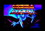 Mega Phoenix Amstrad CPC Loading screen