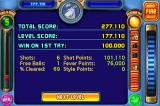 Peggle iPhone Your level results
