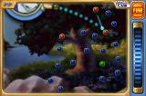 Peggle iPhone By double tapping, you can zoom in for more precise aiming.