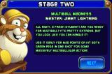 Peggle iPhone Each new stage gives you a new Peggle Master with a different power.