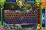 Peggle iPhone Jimmy Lightning's super power splits one ball into two!