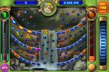Peggle iPhone In this level, all the bricks lead downward to the center.