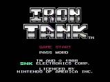 Iron Tank: The Invasion of Normandy NES Title screen