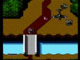 Iron Tank: The Invasion of Normandy NES Being attacked by enemy planes and tanks