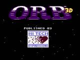 Orb-3D NES Title screen