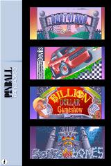 Pinball Fantasies iPhone Level selector, classic graphics mode