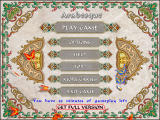 Main Menu (Shareware version)