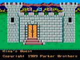 King's Quest SEGA Master System Title screen