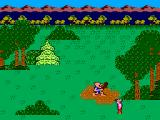 King's Quest SEGA Master System Graham, look out!