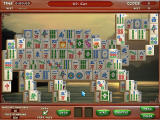 Mahjong Escape: Ancient China Windows A board layout shaped like an animal.