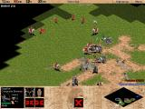 Age of Empires Windows Trial mission: a battle between Egyptians and Greeks.