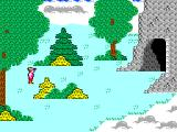 King's Quest SEGA Master System ...and up into the clouds