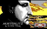Austerlitz DOS Title screen