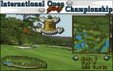 International Open Golf Championship DOS Examining the map