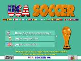 USA Soccer '94 DOS Title Screen