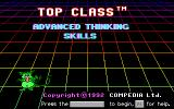 Advanced Thinking Skills DOS Title Screen