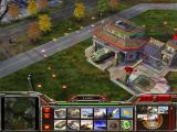 Command & Conquer: Generals Windows The War Factory, surrounded by mines, has finished a troop transport (CHINA).