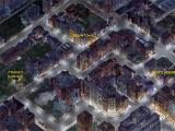 Jack Orlando: A Cinematic Adventure DOS Map of the city