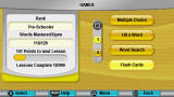 My Spanish Coach PSP An overview of the available games
