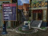 Vandal Hearts PlayStation Town options