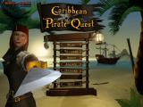 Caribbean Pirate Quest Windows Title screen and main menu