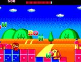 Alex Kidd: The Lost Stars SEGA Master System A dog of words