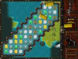 Caribbean Pirate Quest Windows In this level, the treasure is bars of gold that fall. I must shoot them with the cannon sight.