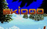 Skidoo Atari ST Title Screen