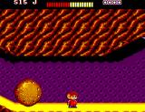 Alex Kidd: The Lost Stars SEGA Master System A big boulder coming to roll over Alex