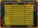 Dragon Windows High score table (Polish)