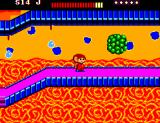 Alex Kidd: The Lost Stars SEGA Master System What is that green thing?