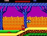 "Alex Kidd: The Lost Stars SEGA Master System The jumping-eye plant says: ""I see you, Alex"""