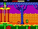 Alex Kidd: The Lost Stars SEGA Master System What is that? A one-eyed cucumber?