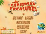 Caribbean Treasures Windows Title screen and main menu