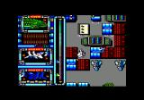 Silent Shadow Amstrad CPC Engaging the enemy.